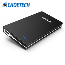 Power Bank 10000mAh CHOETECH Mobile Backup Powerbank for Xiaomi Baterry External Universal Mobile Phone Charger for Huawei(China)