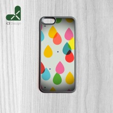 Wholesale And Retail Colorful Water Drops Printing Flexible Back Shell For iPhone 6 6s And 4 4s 5 5s 5c 6 Plus Trend Phone Cases