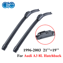 Oge Windscreen Wiper Blades For Audi A3 8L Hatchback 1996-2003 Pair 21''+19'' Windshield Silicone Rubber Auto Car Accessories