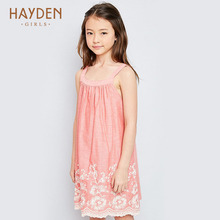 HAYDEN girls dresses summer stripped sundress 7 9 11 years costumes children clothing teenage girls clothes party frocks designs