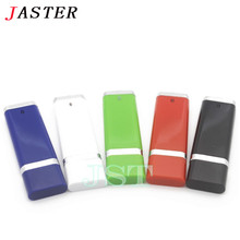 JASTER fashion 4 Color 4GB 32GB Business USB Flash Drive Thumb Memory Flash Stick Pen drive 16 gb birthday Personality Gift