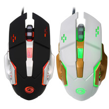 USB Powered Optical Gaming mouse Wired 3200dpi mice for DOTA2 World of tanks gamers LED mause for laptop Computer pc(China)