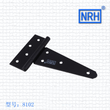NRH8102-100 Grilled black Strap Hinge GB cold rolled steel Strap Hinge wooden case Strap Hinge High quality factory direct sales