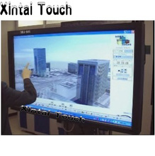 "Free Shipping! 21.5"" multi IR touch screen frame 10 points Infrared touch panel kit for lcd display(China)"
