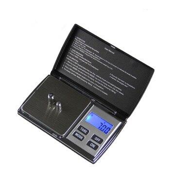 500 г х 0.01 г Цифровые Высокоточные Весы для Золота Bijoux Ювелирные Изделия 0.01 Карманные Весы Электронные Весы Из Нержавеющей Стали