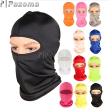 Hot Selling Motorcycle Cycling Ski Neck Protecting Outdoor Balaclava Full Face Mask Ultra Thin Breathable Windproof(China)