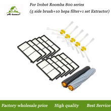1x Tangle-Free Debris Extractor Set & Side Brushes & Hepa Filter For iRobot Roomba 800 series 870 880 980 Vacuum Cleaning Robots