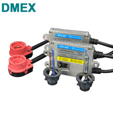 DMEX 1 Set 12V 24V 35W AC Fast Start D2S Xenon HID Kit 4300K 5000K 6000K 8000K with Hylux Fast Start HID Ballast and D2S Socket