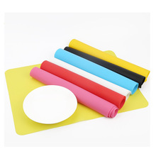 30*40cm Silicone Place Mats Heat Resistant Non Slip Table Pad Waterproof Mats