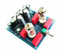 Upgrades 6J1 Stereo Valve Tube Preamp Stamp Pre-Amplifier Board Compatible 6AK5 6BC5 EF95 CV850