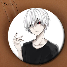 Youpop Japan Anime Tokyo Ghoul Album Brooch Pin Badge Accessories For Clothes Hat Backpack Decoration Men Women Boy Girl XZ0206