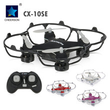 Cheerson CX-10SE Mini Drone Quad Copter 2.4G Remote Control Helicopter Nano RC Quadcopter RTF Pocket Drones 4CH 6Axis 3D Flips