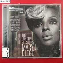 BINYEAE- new CD seal: The London Sessions Mary J. Blige US version CD light disk [free shipping](China)