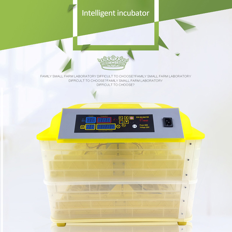 Automatic Egg Incubator China 96 Digital Clear Egg Turning Temperature Control Farm Hatchery Machine chicken egg Hatcher (4)