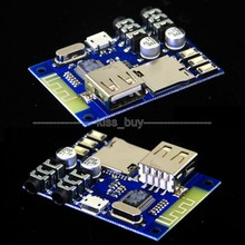 USB/TF/FLAC MP3 Decoding Stereo Bluetooth Audio Receiver Board AUX Amplifier DIY(China)