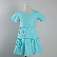 2015 new arrival summer boutique princess girls cotton dresses baby kids girls smocked dresses