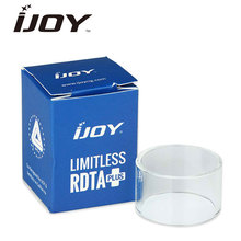 Original IJOY Limitless RDTA Plus Tank Glass Tube Pure Color Replacement Glass Tube for Limitless RDTA Plus Atomizer