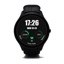 NO.1 D5 Android 4.4 Bluetooth GPS Smart Watch with Heart Rate Monitor Google Play GPS MTK6572 4G ROM 512M RAM SmartWatch