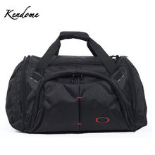 Black 45L Sports Bags Big Capacity Women Fitness Gym Bag Handbags for Men over the Shoulder Travel Luggage Tourist Bag XA364WD