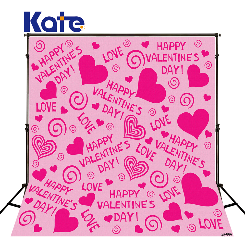 Photography Background 300Cm*200Cm Love Pink Love ValentineS Day Thick Cloth Backdrops For Photography Zj<br>