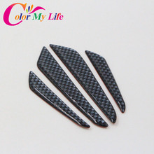 Black Silver Car Door Protection Strips Sticker For Ford Mondeo Focus 2 3 4 Escape Fiesta Ecosport Everest Edge Car Accessories
