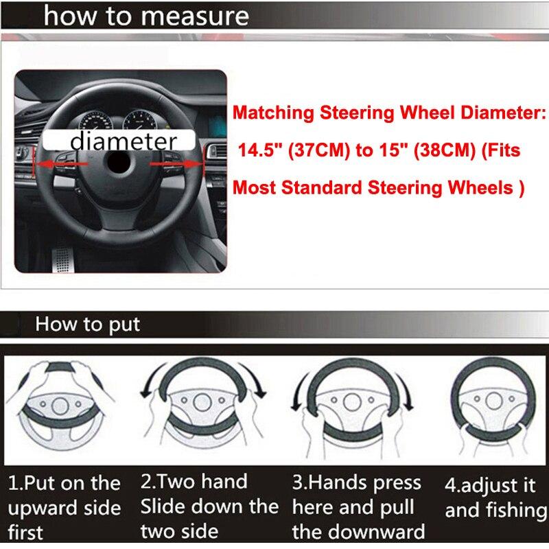 14 Car steering Wheel Covers