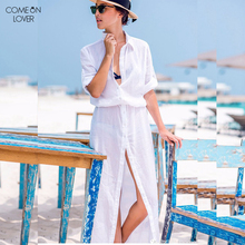 Comonlover Highly Recommend See through Beach Cover Fashion Design Beach Wear Women BT287 Free Shipping Sexy Beach Dress