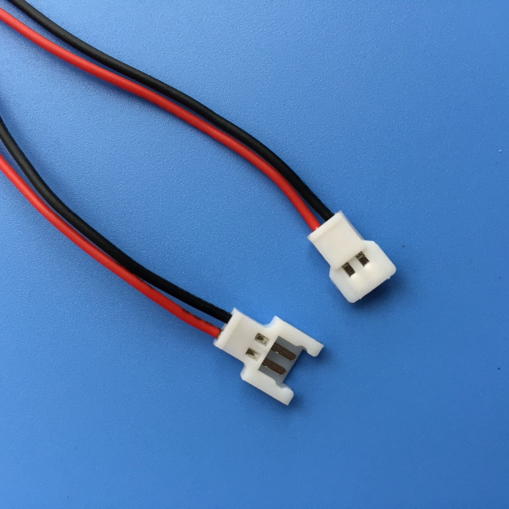 1S 2 Pins Mirco Model Battery Connector for RC Helicopter QAV Multicopter Length=150mm<br><br>Aliexpress