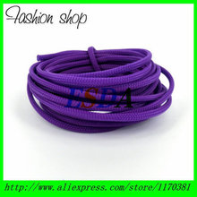 10M/ Reel 3mm Purple Tight Braided Round PET Expandable Sleeving
