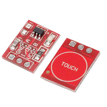 10Pcs TTP223 Touch Key Switch Module Touching Button Capacitive Switches Self-Locking/No-Locking Capacitive Switches(China)