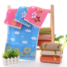 2PCS/LOT High quality 35*75cm Luxury Terry Hand Towels,Color Yarn Jacquard Designer Soft Bathroom Hand Towels,Toallas Algodon
