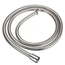 1.5m Plumbing Hoses Stainless Steel Bathroom Shower Head Hose Durable Bath Showerhead Water Pipe Tube Hose