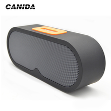 CANIDA Mini speaker bluetooth Speaker Portable Wireless Speaker Sound System 3D Stereo Music Surround Support TF AUX USB