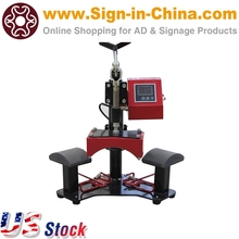 US Stock-Double Stations Cap Hat Heat Press Machine(China)