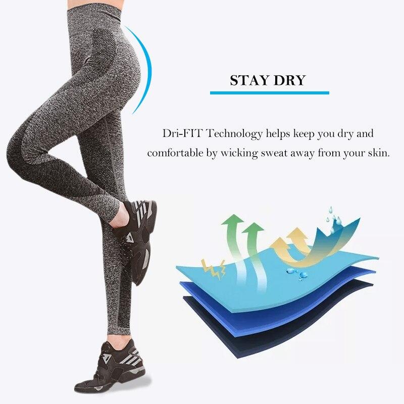 Womens Yoga Pants High Elasticity (5)