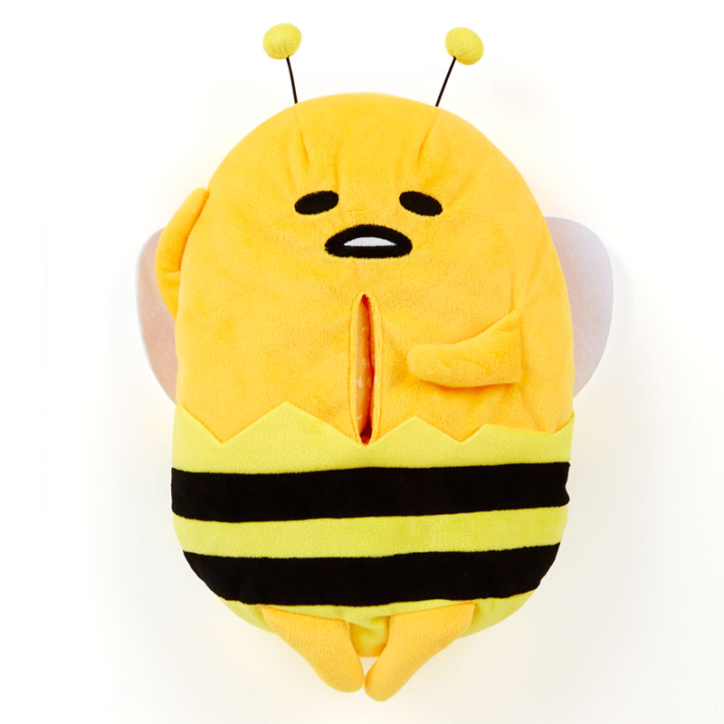 Cute 1pc 37cm cartoon gudetama egg become bee lovely paper towel case Vehicle tissue box stuffed toy girl gift<br><br>Aliexpress