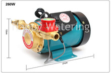 "3/4"" Outlet Automatic Water Heater Solar Water Pressure Booster Pump 260W Pressure Pumps"