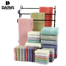 SDARISB 100% Cotton Towel Sets Bath Towels For Adults Luxury Brand Soft Face Towels Colors Thick High Absorbent Antibacterial