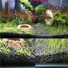 Aquarium special Grass mud 500g fish tank landscaping bottom sand Crystal shrimp fertile