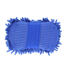 22*11*6cm Car Wash Auto Hand Soft Towel Microfiber Chenille Anthozoan Washing Gloves Coral Fleece Sponge Car Washer(China)
