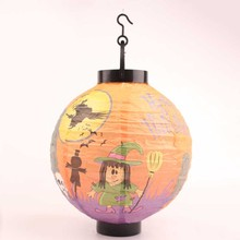 6Pcs/Set Different Pattern Halloween Decorations LED Pumpkins Lantern Jack Skeletons Spiders Bats Haunted New Fashion