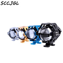 Motorcycle LED lights U5 laser cannons transformers headlight Operate shoot the light automobile repacking for DIY tool