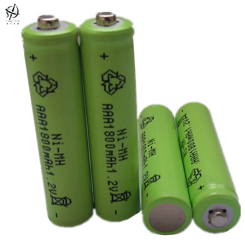 Hot Sale 14pcs/lot High Power AAA 1800MAH/1.2V Rechargeable NiMH Battery 1800 mAh New Batteries(China (Mainland))