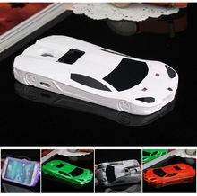 DEEVOLPO 3D Fashion Hard Case For Samsung Galaxy S4 SIV i9500 Sport Racing Car Design Protective Cover With Stand(China)