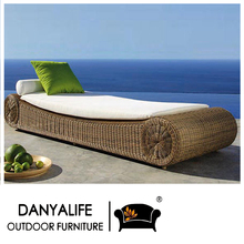 DYLG-JN67 Danyalife Hot Selling Outdoor Poly Rattan Furniture Swimming Pool Lounge