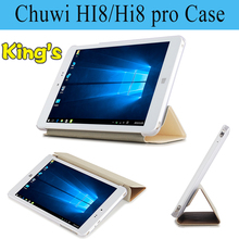 Newest 8 Inch For Chuwi Hi8 /Hi8 Pro / Hi8pro Tablet PC pu case cover free screen protector freeshipping