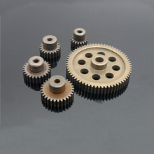 1/10 RC Toy Cars Accessories Gear for HSP 94111 94123 Electric Model Car Motor Steel Gears 17T/21T/26T/29T/64T