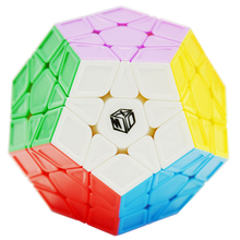 New Qiyi X-MAN Galaxy Megaminx Sculpture Stickerless Professional Speed Magic Cube Puzzle Educational Toys(China)