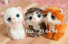 20cm 3PC/LOT Plush toy doll big eye small cat cat Garfield children gift wedding gifts
