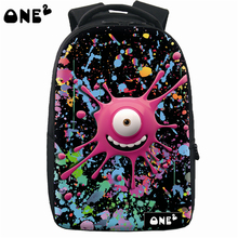 ONE2 New design laptop backpack bag fashion school clear backpack wholesale backpack 3d teenager kids backpack hign quality